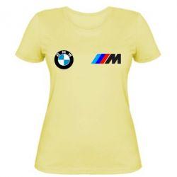 Женская футболка BMW M - FatLine