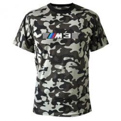 Камуфляжная футболка BMW M3