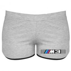 Женские шорты BMW M3 - FatLine