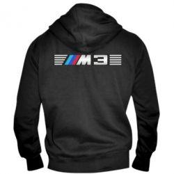 Мужская толстовка на молнии BMW M3 - FatLine