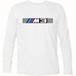 Футболка с длинным рукавом BMW M3 - FatLine