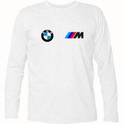 Футболка с длинным рукавом BMW M - FatLine