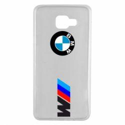 Чохол для Samsung A7 2016 BMW M