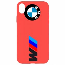 Чехол для iPhone XR BMW M