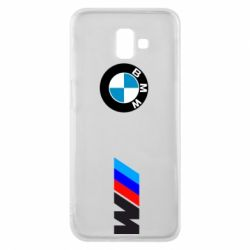 Чехол для Samsung J6 Plus 2018 BMW M