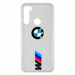 Чехол для Xiaomi Redmi Note 8 BMW M