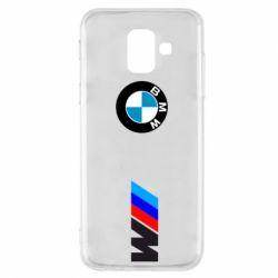 Чохол для Samsung A6 2018 BMW M