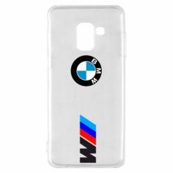 Чохол для Samsung A8 2018 BMW M