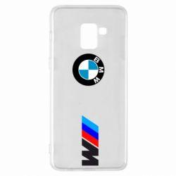 Чохол для Samsung A8+ 2018 BMW M