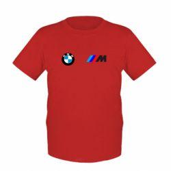 Детская футболка BMW M - FatLine