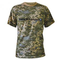 Камуфляжная футболка BMW Motorsport - FatLine