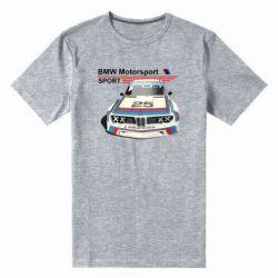 Мужская стрейчевая футболка Bmw motorsport