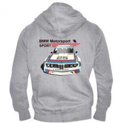 Мужская толстовка на молнии Bmw motorsport