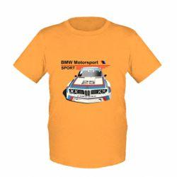 Детская футболка Bmw motorsport