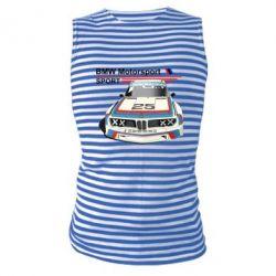 Майка-тільняшка Bmw motorsport
