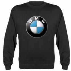 Женская толстовка BMW Small Logo - FatLine