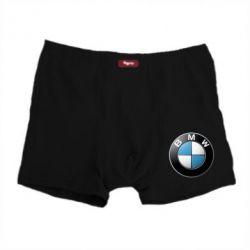 Мужские трусы BMW Small Logo - FatLine