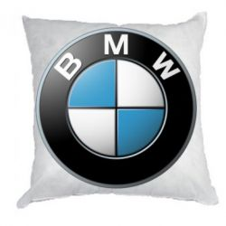 Подушка BMW Small Logo - FatLine