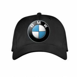Детская кепка BMW Small Logo - FatLine