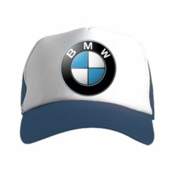 Кепка-тракер BMW Small Logo - FatLine