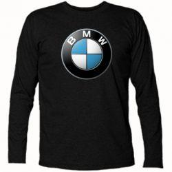Футболка с длинным рукавом BMW Small Logo