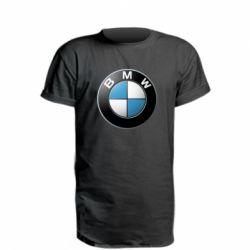 Футболка с длинным рукавом BMW Small Logo - FatLine