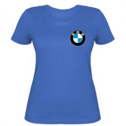 Женская футболка BMW Small - FatLine