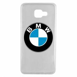 Чехол для Samsung A7 2016 BMW Small