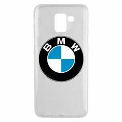 Чехол для Samsung J6 BMW Small