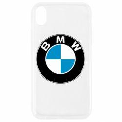 Чехол для iPhone XR BMW Small