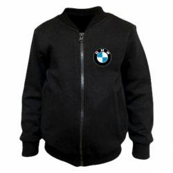 Детский бомбер BMW Small