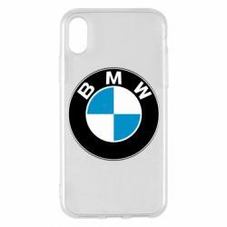 Чехол для iPhone X/Xs BMW Small