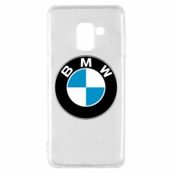 Чехол для Samsung A8 2018 BMW Small