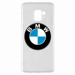 Чехол для Samsung A8+ 2018 BMW Small