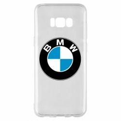 Чехол для Samsung S8+ BMW Small