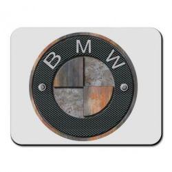 Коврик для мыши BMW Steel Logo
