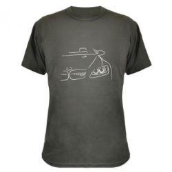 Камуфляжная футболка BMW vector