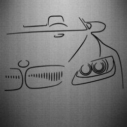 Наклейка BMW vector