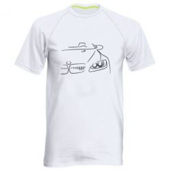 Мужская спортивная футболка BMW vector