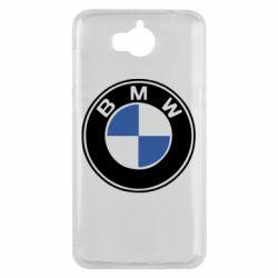 Чехол для Huawei Y5 2017 BMW - FatLine