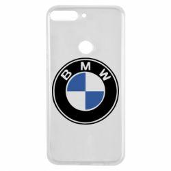 Чехол для Huawei Y7 Prime 2018 BMW - FatLine