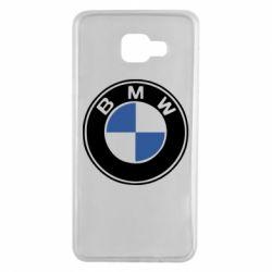 Чехол для Samsung A7 2016 BMW - FatLine