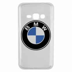 Чехол для Samsung J1 2016 BMW - FatLine