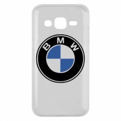 Чехол для Samsung J2 2015 BMW - FatLine