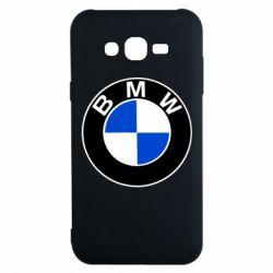 Чехол для Samsung J7 2015 BMW - FatLine