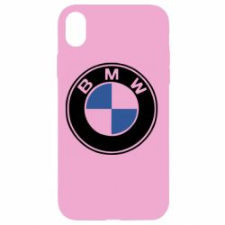 Чехол для iPhone XR BMW