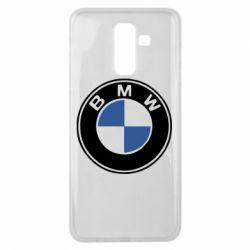 Чехол для Samsung J8 2018 BMW - FatLine
