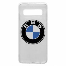 Чехол для Samsung S10 BMW