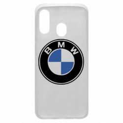 Чехол для Samsung A40 BMW - FatLine