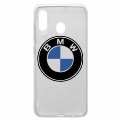 Чехол для Samsung A20 BMW - FatLine